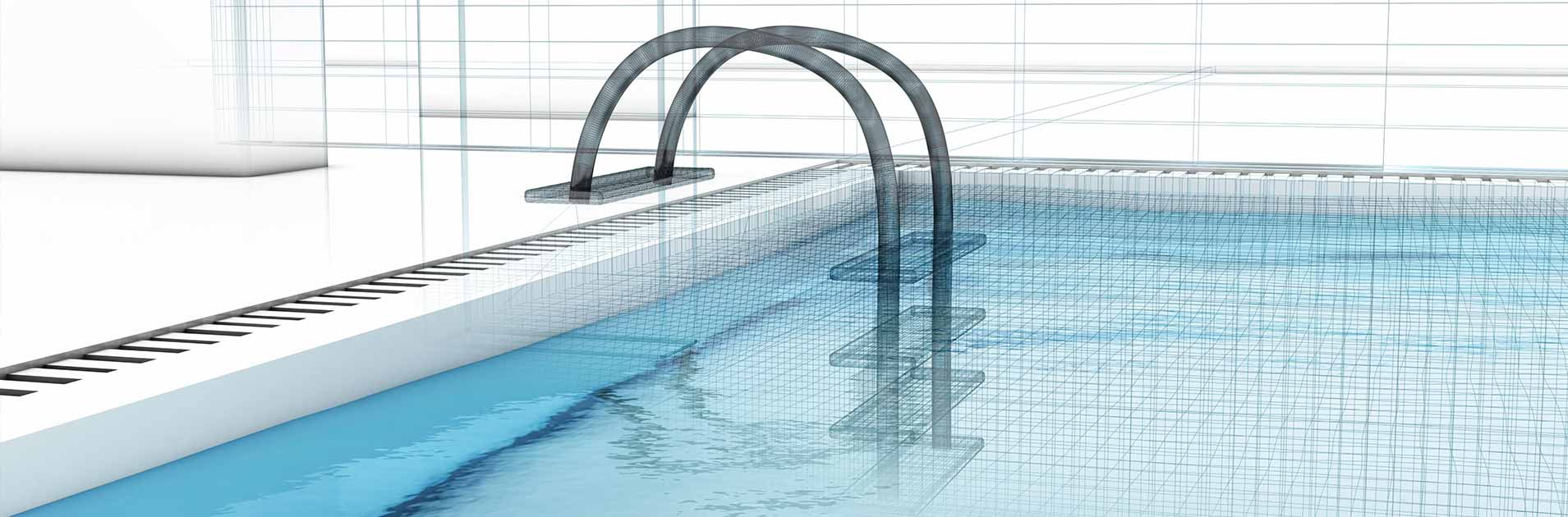 Rysunek techniczny - basen