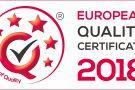 EQC 2018 en 135x90 - EUROPEAN QUALITY CERTIFICATE 2018