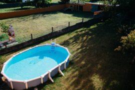 basen rozkladany w ogrodzie 270x180 - rozkładany basen w ogrodzie